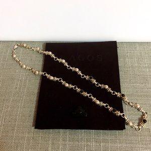 LAGOS Caviar vintage 18k 4mm Onyx Necklace